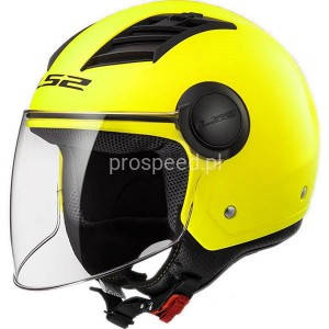 Kask Motocyklowy LS2 OF562 AIRFLOW SOLID MATT H-V YELLOW