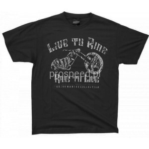 T-shirt Live to Ride Motorcycle - Choppers Division